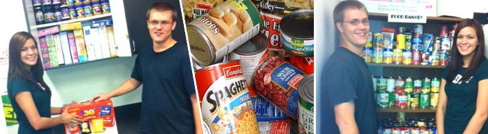 food pantry photos