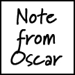Note from Oscar