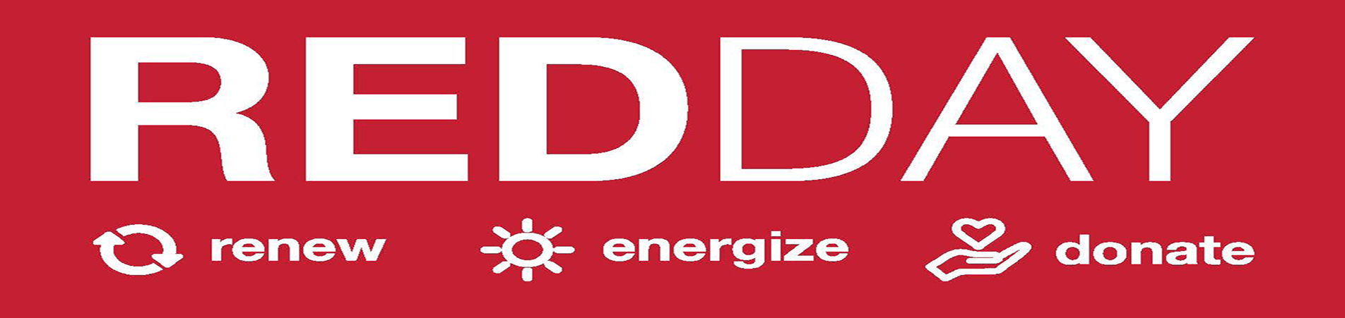 RED Day (Renew, Energize and Donate)